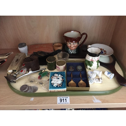 911 - Tray of Collectables...