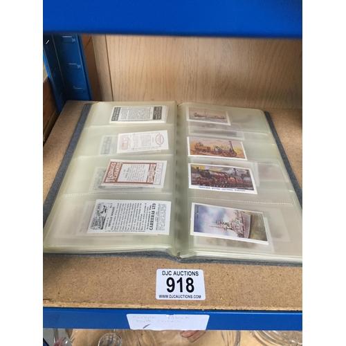 918 - Binder of Collectors Cards...