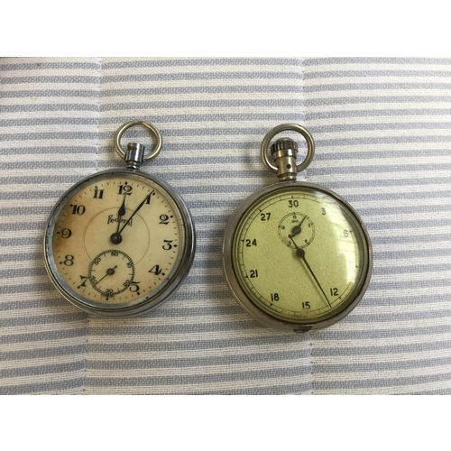 847 - 2 x Old Pocket Watches...