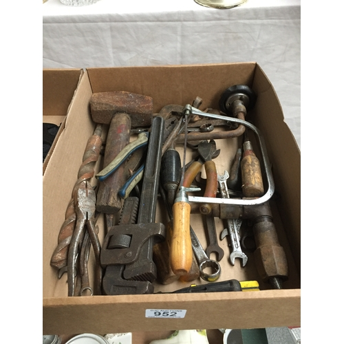 952 - Box of Tools...