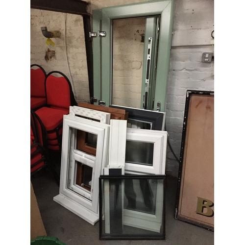 977 - Quantity of UPVC Doors, Windows & Glass, etc...
