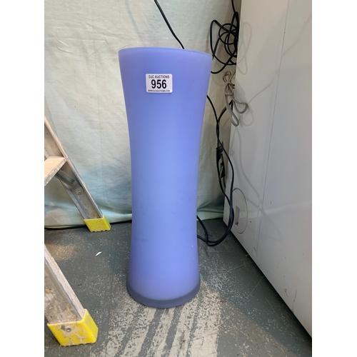 956 - Large Purple Vase...