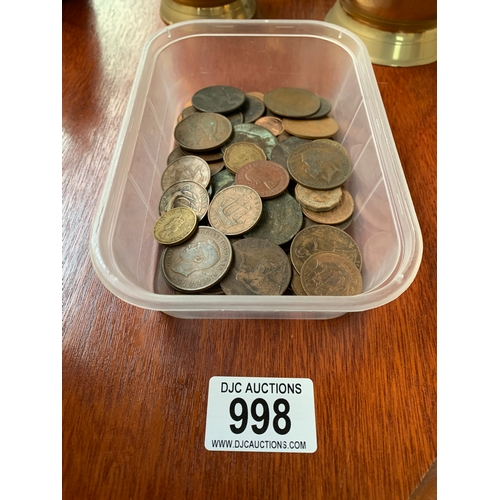 998 - Box of Old Coins...