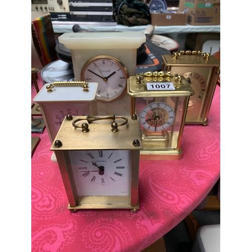 1007 - Quantity of Carriage Clocks...