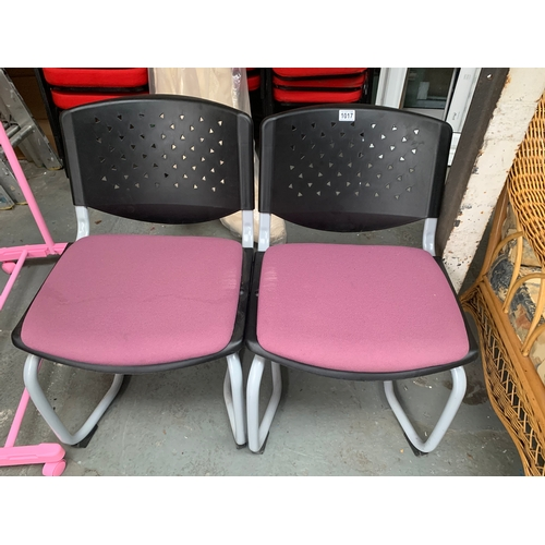 1017 - 2 x Office Chairs...
