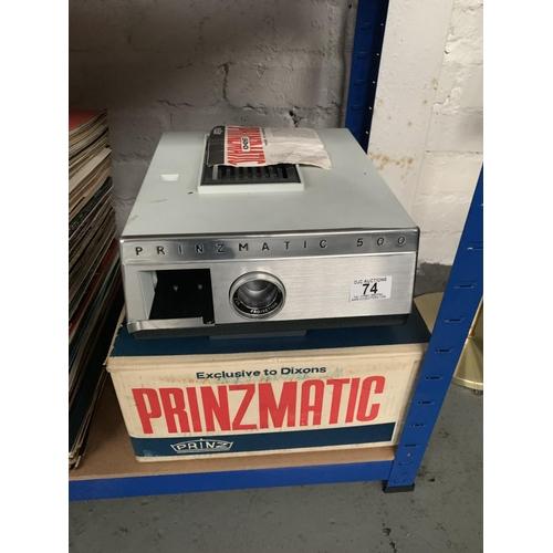 74 - Prinzmatic 500 Projector...
