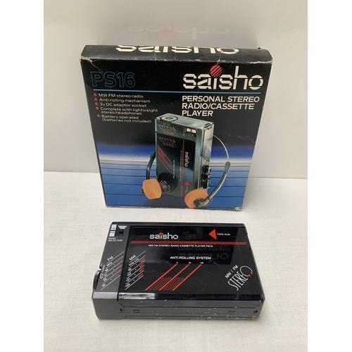 35 - Saisho Tape Player...