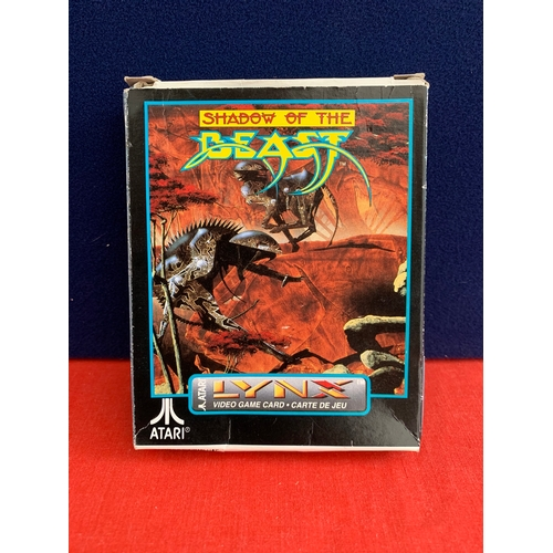 54 - Vintage Atari Lynx Shadow of the Beast - Box Only, No Game...