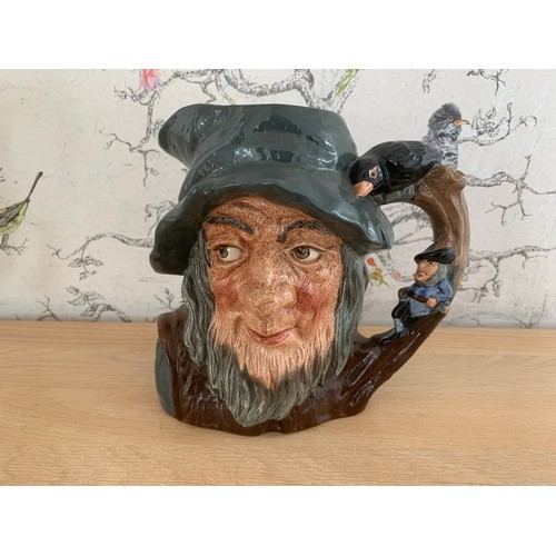 8 - Large Royal Doulton Rip Van Winkle Character Jug - 17cms Height