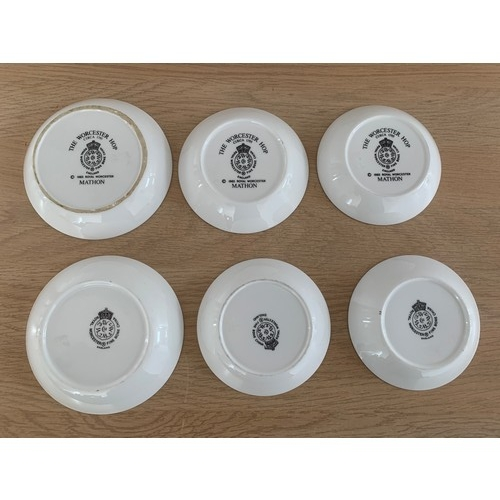 11 - 6 x Royal Worcester Pin Dishes