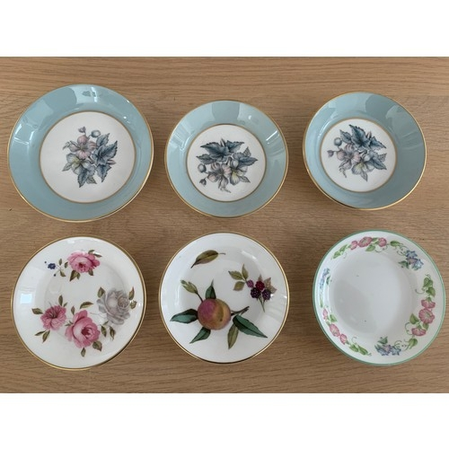 15 - 6 x Royal Worcester Pin Dishes