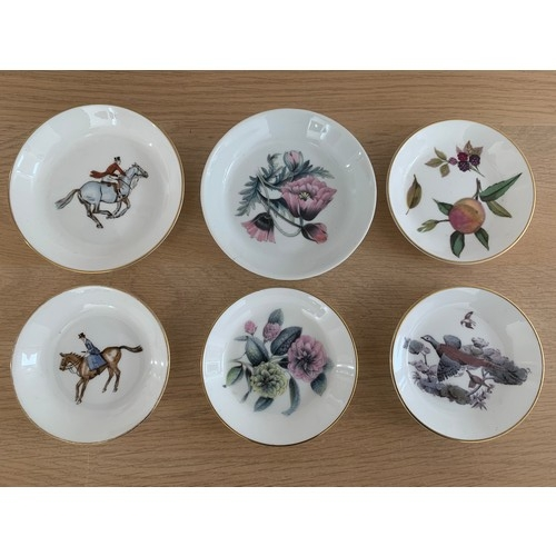 20 - 6 x Royal Worcester Pin Dishes