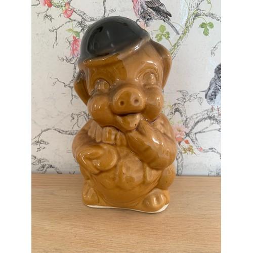 22 - Vintage R Moss Piggy Bank - 22cms Height