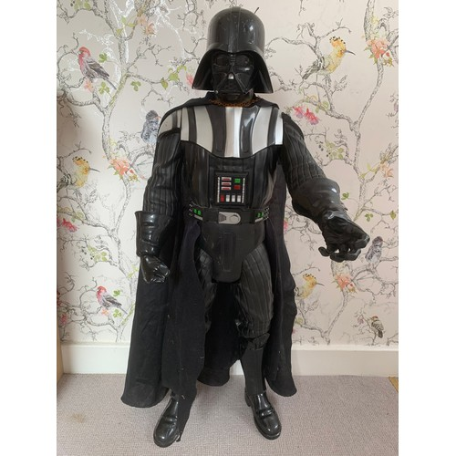 56 - Large Darth Vader Figure 80cms Height