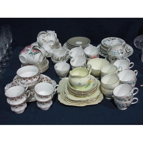 38 - Various part tea sets....