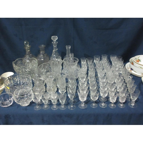 54 - A large quantity of Glassware....