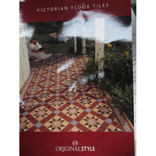 8 - A complete set of Original Style Victorian style Floor Tiles....