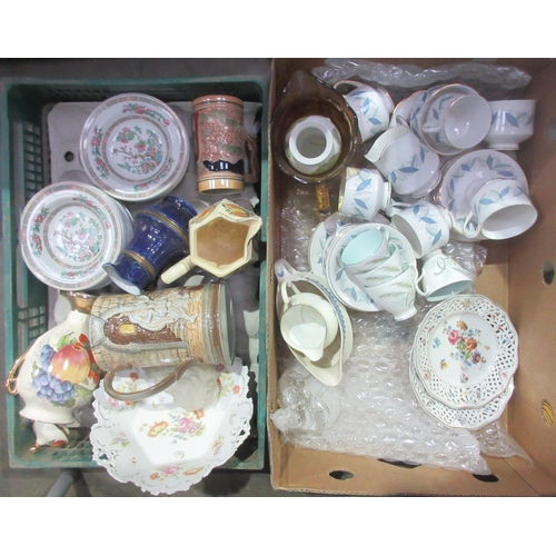 36 - Four boxes of various China....
