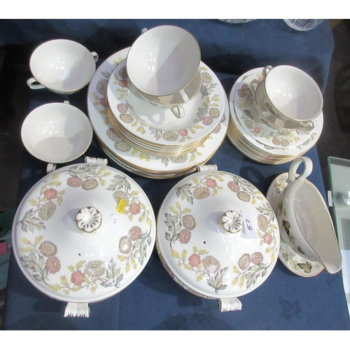 52 - A Royal Doulton 'Larchmont' part Dinner Service....