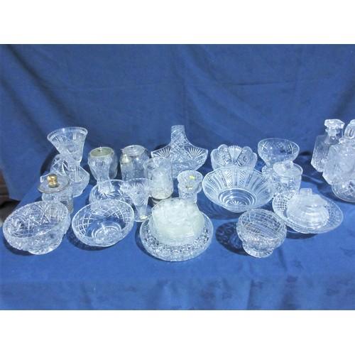 31 - A quantity of Cut Glassware, etc....