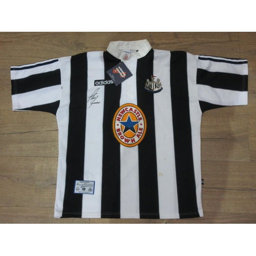 119 - A Newcastle United Football Shirt signed by Shearer...