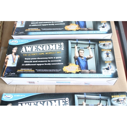 25 - 1X BOXED AWESOME GYM THE ULTIMATE HOME WORKOUT BAR...