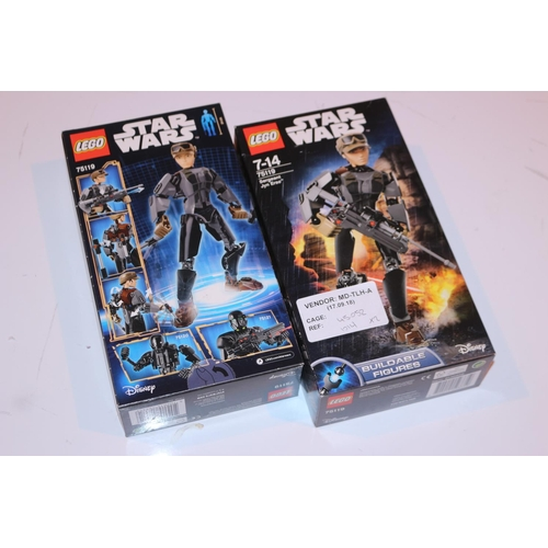 18 - STAR WARS BUILDABLE FIGURES (17.09.18) (45.052)...