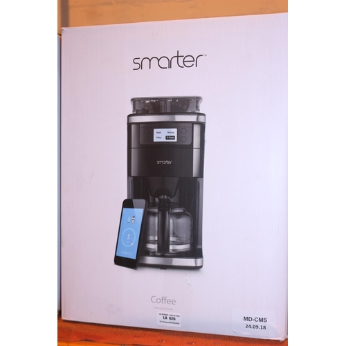 25 - SMARTER GRIND AND BREW COFFEE MACHINE RRP £180 (24.09.18)...
