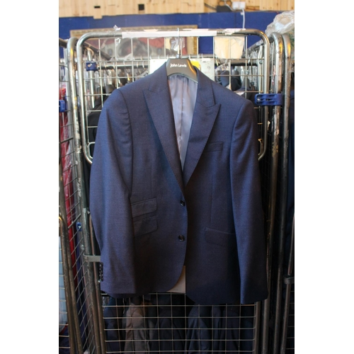 42 - SOURCED FROM JOHN LEWIS CAGE TO CONTAIN 63 ASSORTED ITEMS OF GENTS FORMAL WEAR COMBINED RRP £1650 (2...