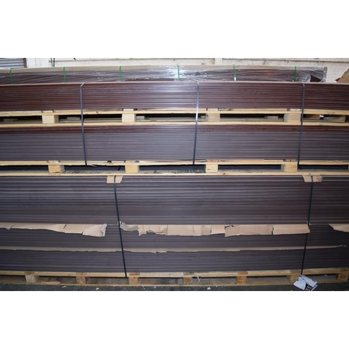 9 - 1 x PALLET CONTAINING 30 PIECES OF 235 X 25 X 3660MM BRAND NEW WILD FIELD BROWN WPC DECKING RRP £99....