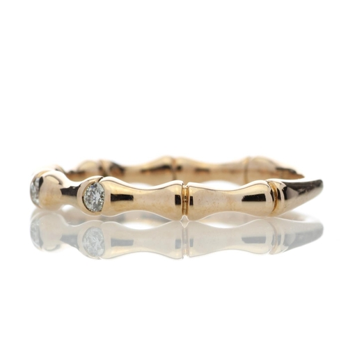 19180002 - Valued by GIE £1,700.00 - 9ct Rose Gold Diamond Ring G SI 0.12 Carats, Colour-D, Clarity-VS, Certifi...