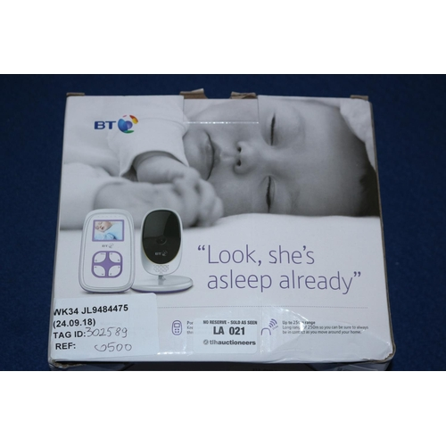 21 - BT BABY MONITOR RRP £50 (24.09.18)...