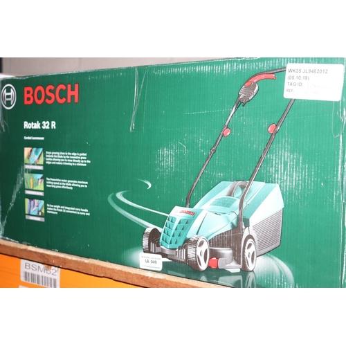 49 - BOSCH ROTAK 32R LAWN MOWER RRP £80 (05.10.18) (3170029)...