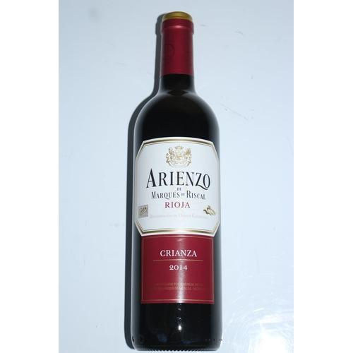 3 - BOTTLES OF 75CL 2014 ARIENZO RIOJA CRIANZA RRP £6 PER BOTTLE (15.10.18)...