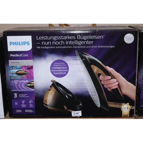 46 - PHILIPS GC9682 PERFECT CARE ELITE PLUS STEAM GENERATOR IRON RRP £370 (10.10.18) (3239810)...