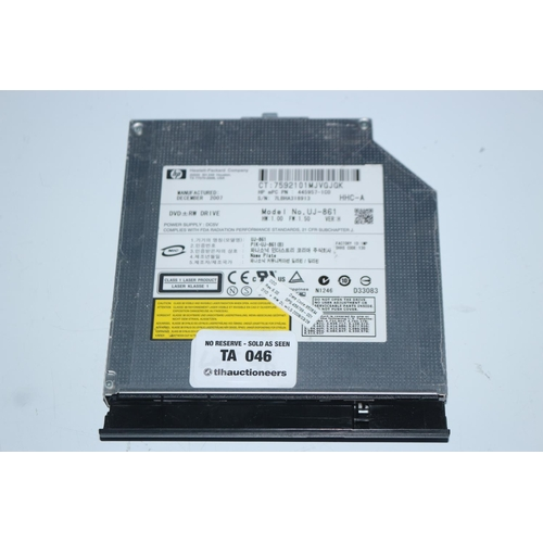 46 - LAPTOP DVD DRIVE...