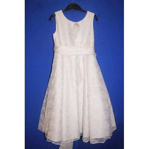 50 - JOHN LEWIS LACE DRESS IN IVORY RRP £45 (04.10.18)...