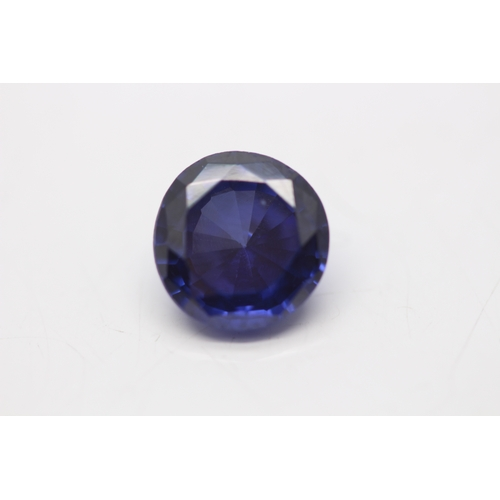 00000A - **INVESTMENT STONE** 6.05CT ROUND CUT SINGLE STONE TANZANITE, STONE WEIGHT: 6.05 CARAT, CLARITY: SI,...