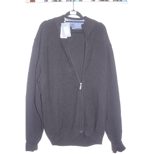 2 - JOHN LEWIS MERINO CASHMERE ZIP THROUGH JACKET RRP £25 (25.09.18) (44.188)...