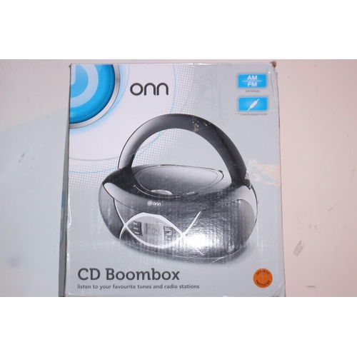 48 - ONN CD BOOM BOXES...