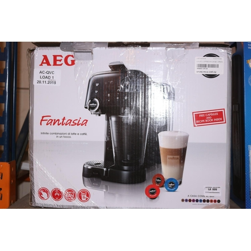 9 - AEG LAVAZZA A MODO MIO COFFEE MACHINE RRP £85 (20.11.18)...