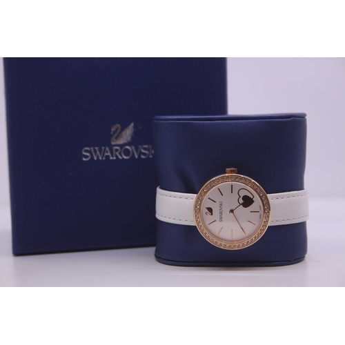 48 - BOXED BRAND NEW SWAROVSKI LADIES WRIST WATCH COMPLETE WITH 2 YEARS INTERNATIONAL WARRANTY RRP £199...