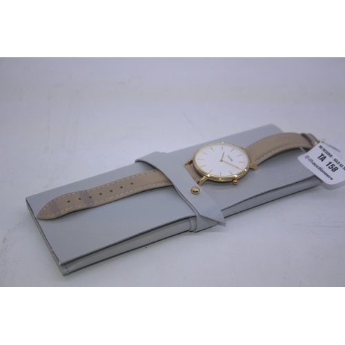 158 - BOXED BRAND NEW CLUSE DESIGENR WRIST WATCH COMPLETE WITH 2 YEARS INTERNATIONAL WARRANTY RRP £80...