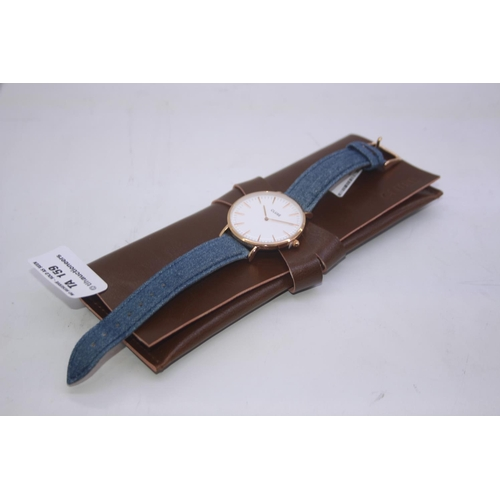 159 - BOXED BRAND NEW CLUSE DESIGENR WRIST WATCH COMPLETE WITH 2 YEARS INTERNATIONAL WARRANTY RRP £80...