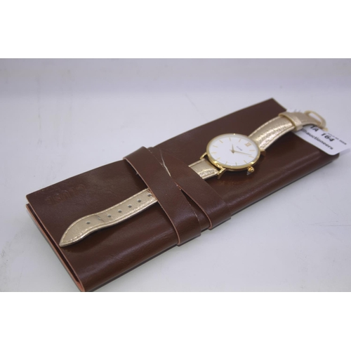 164 - BOXED BRAND NEW CLUSE DESIGENR WRIST WATCH COMPLETE WITH 2 YEARS INTERNATIONAL WARRANTY RRP £80...