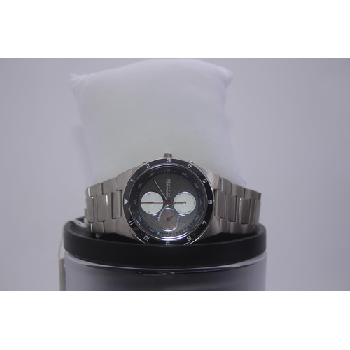 170 - BOXED BRAND NEW BERING DESIGNER WRIST WATCH COMPLETE WITH 2 YEARS INTERNATIONAL WARRANTY RRP £299...