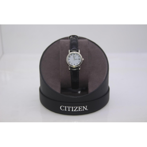 186 - BOXED BRAND NEW CITIZEN DESIGNER WRIST WATCH COMPLETE WITH 2 YEARS INTERNATIONAL WARRANTY RRP £149...