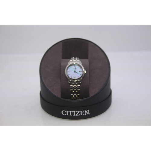 189 - BOXED BRAND NEW CITIZEN DESIGNER WRIST WATCH COMPLETE WITH 2 YEARS INTERNATIONAL WARRANTY RRP £349...