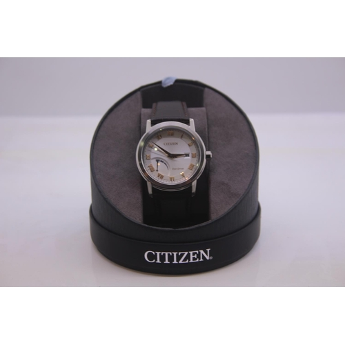 199 - BOXED BRAND NEW CITIZEN DESIGNER WRIST WATCH COMPLETE WITH 2 YEARS INTERNATIONAL WARRANTY RRP £169...