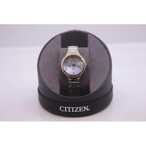 200 - BOXED BRAND NEW CITIZEN DESIGNER WRIST WATCH COMPLETE WITH 2 YEARS INTERNATIONAL WARRANTY RRP £249...
